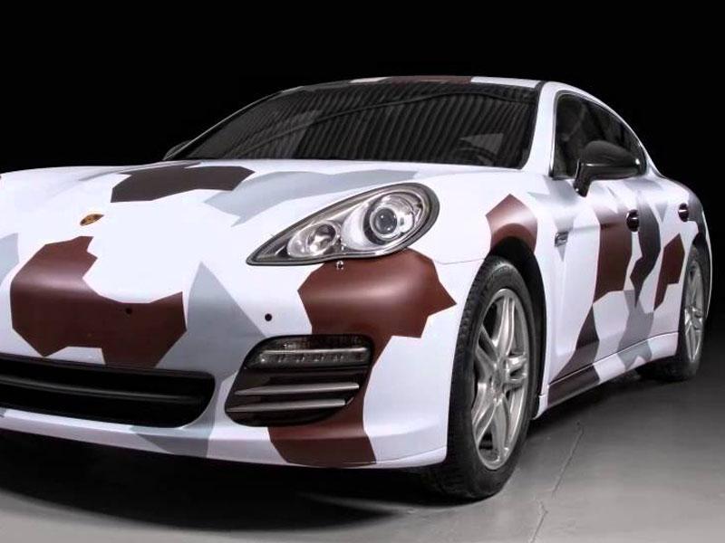 car wrapping mimetica auto sportiva