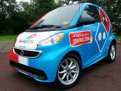 car wrapping mini car auto Smart