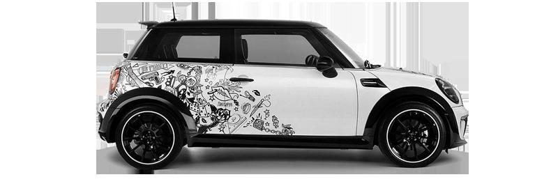 Car Wrapping MINI Couper