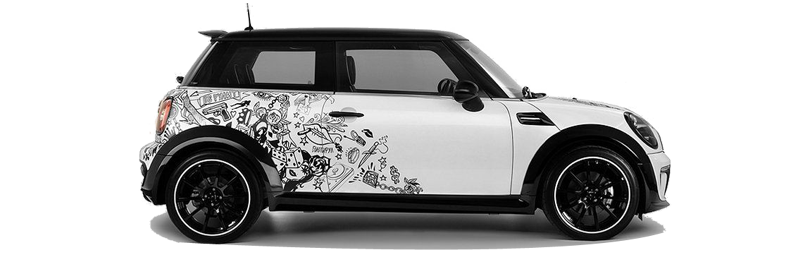 Car Wrapping MINI Couper