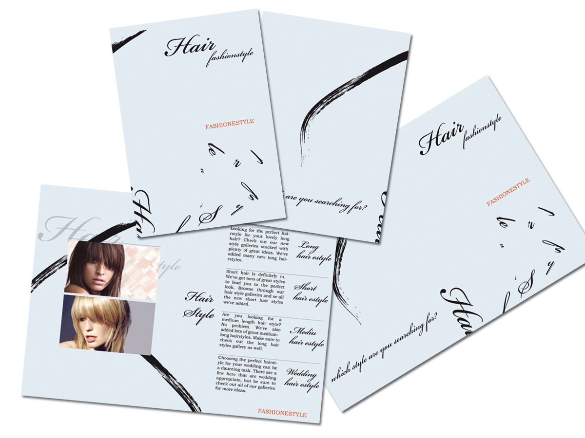 brochure Hair fashionstyle