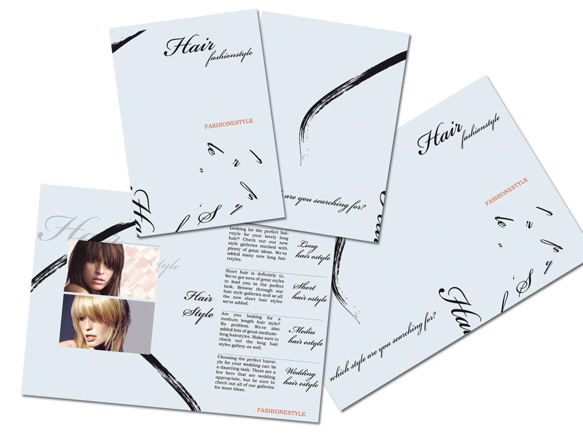 brochure Hair fashionstyle