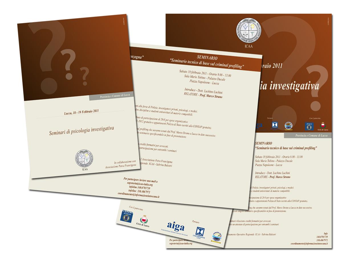 Seminari di psicologia investigativa