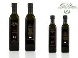 Bottiglie olio biologico Ferraro