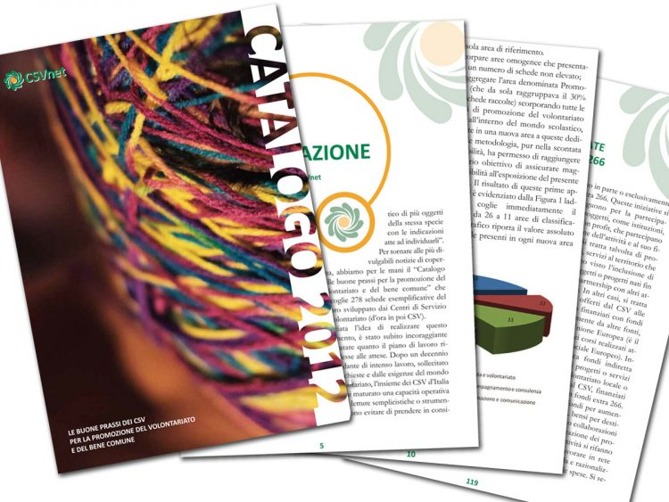 CSVnet – Catalogo 2012 – Le buone prassi