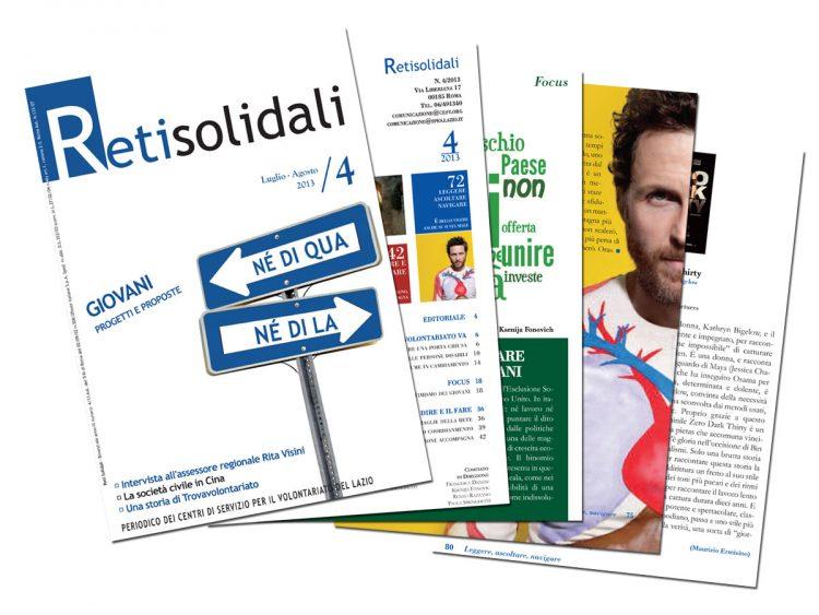 Reti Solidali 4 -2013 Giovani, progetti e proposte
