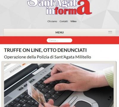 Santagatainforma: giornale locale online