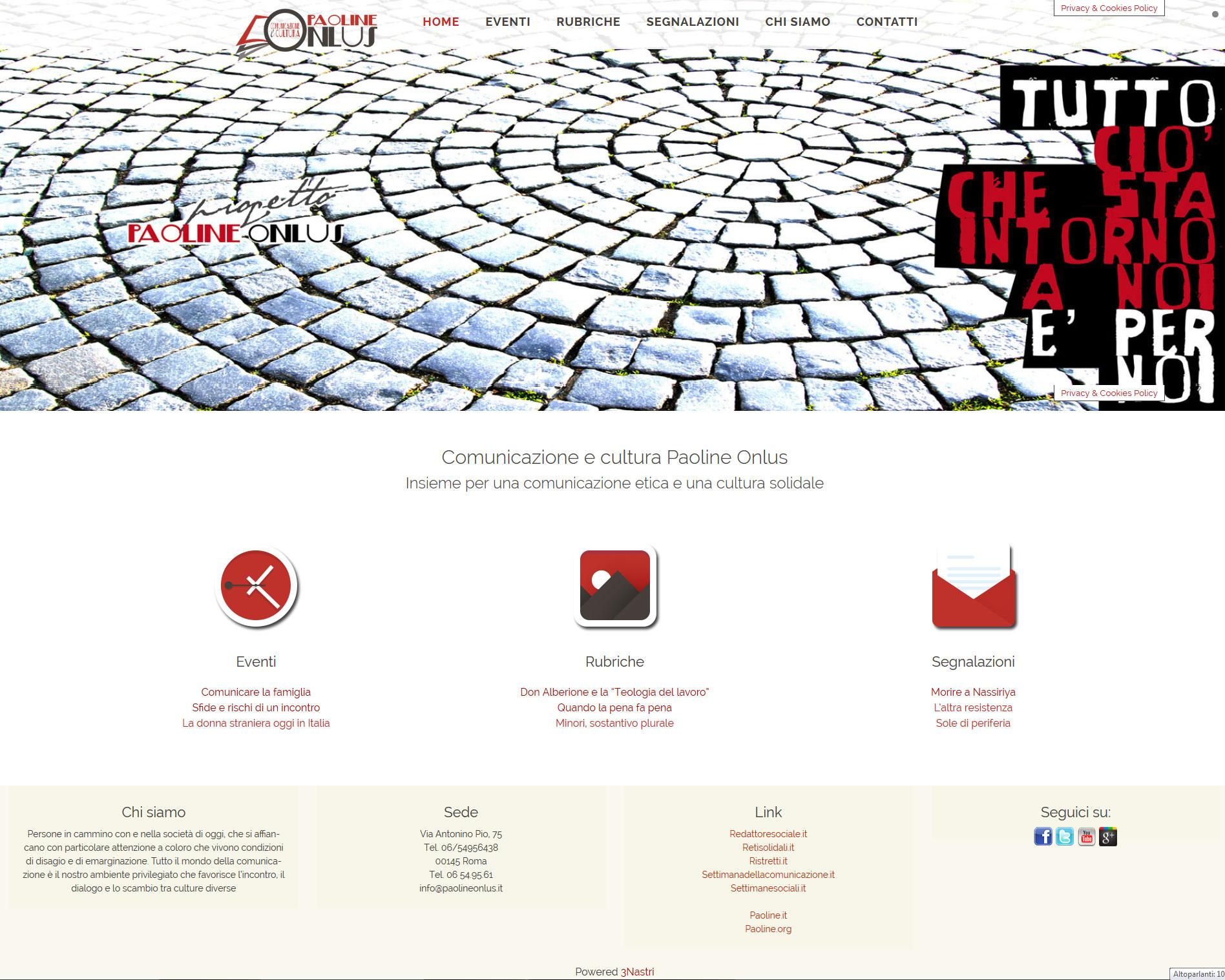 Aggiungi nuovo articolo ‹ 3Nastri - Ideare, progettare, realizzare — WordPress.htm