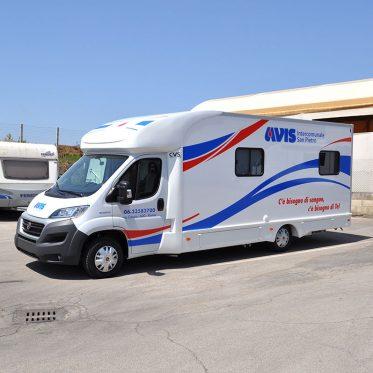 Deisgn Camper Avis per CarWrapping