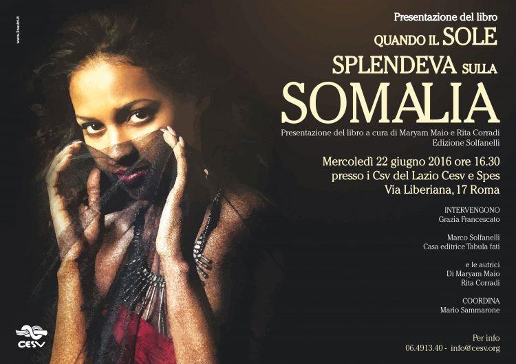 Presentazione libro: Quando il sole splendeva sulla Somalia