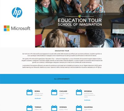 Education Tour Microsoft e Hp