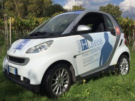 Car design Smart per FisioHumana