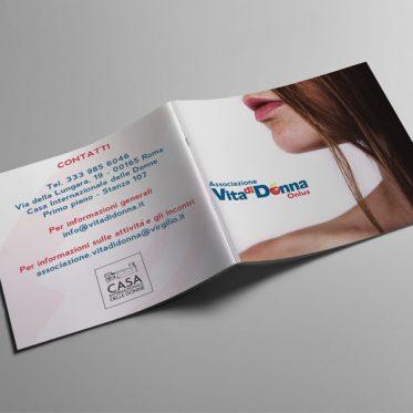 Realizzazione Brochure Vita di Donna | Brochure Sessualità