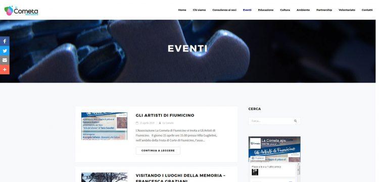 Appuntamenti di gruppo del sito Web