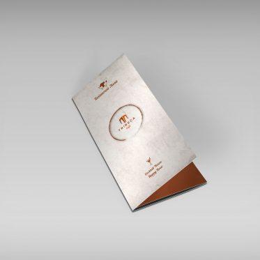 Menù ristorante – Logo ristorante – Tibeca caffè