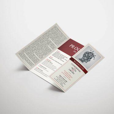 Brochure istituzionale brochure progetto Re-inclusi
