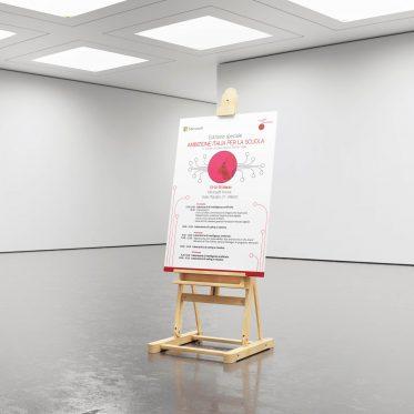 Poster professionale Fondazione Mondo Digitale