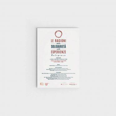 Poster per convegno interreligioso