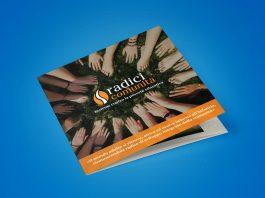 Brochure di progetto professionale elegante Radici di Comunità