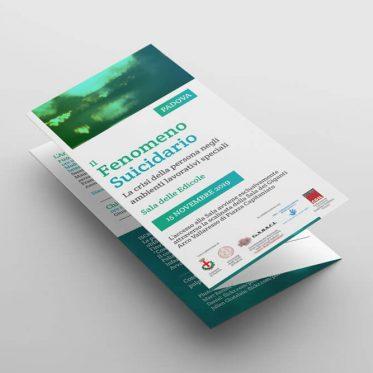 Brochure istituzionale Fenomeno Suicidario